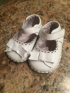 0-6 months Pediped Dressy White Shoes