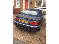 BMW SERIES 3 CONVERTABLE FOR SALE