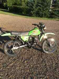 Kawasaki KE 100 ideal for kids or smaller adult