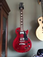 2008 Gibson les paul robot ltd.  wine red for trade