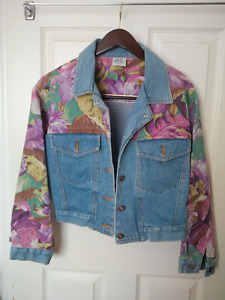 Bomber Denim Jacket