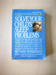 """""""Solve your child's sleep problem"""" by Dr. Richard Ferber"""