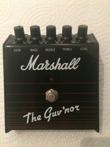 Pédale Marshall The Guv'Nor upgraded