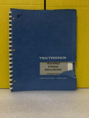 Tektronix 7623r7623 Storage Oscilloscope Operators Instruction Manual