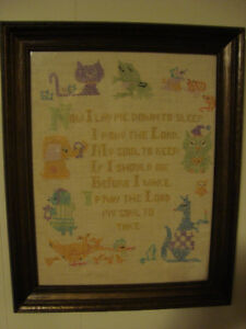 Antique cross stitch