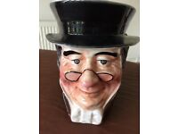Charles Dickens Toby Jug Series by Leonardo - Mr Pickwick