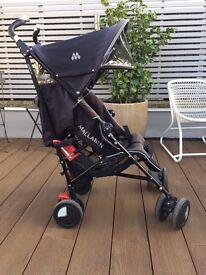 Selling black & silver Maclaren stroller - 75£