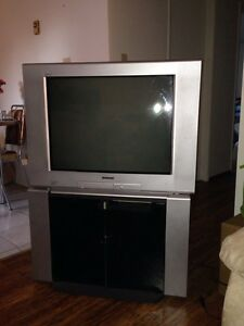 TV and Stand for sale in Sioux Lookout