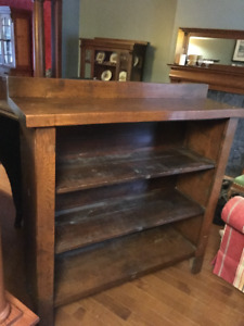Solid Antique Oak Shelf