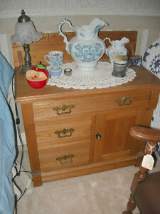 3 piece antique oak bedroom set late 1800's Oakville / Halton Region Toronto (GTA) image 2
