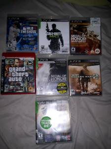 7 PS3 GAMES 15$ FOR THEM ALL