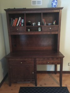 Desk with Library