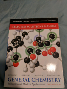 GENERAL CHEMISTRY Principles and Modern Application
