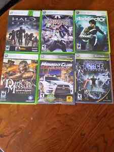 Xbox 360 Games $20 for all