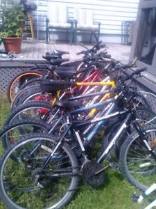 6 Bicycles
