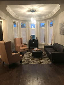 MOVING SALE - COUCH, CHAIRS, BAR & MORE