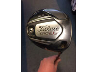 TITLEIST 910 D2 DRIVER R FLEX 10.5* USED CONDITION