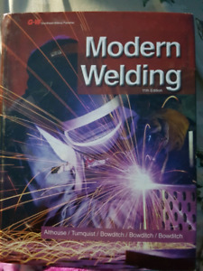 Welding techniques textbooks for fanshawe