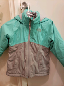 Girls north face jacket spring fall