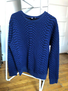Sandro blue sweater