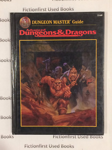 """Roleplay Manual: """"DM Guide AD&D Second Edition"""" -never used"""