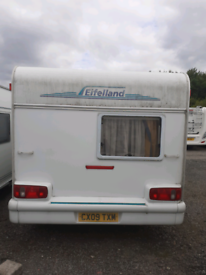 Caravan effeland holiday