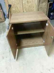 BROWN TV STAND!