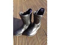Frank Thomas ladies motorbike boots