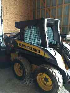 2006 Newholland L150 skid steer