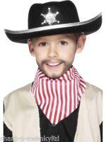 Niña Niño Infantil Negro Sheriff Cowboy Oeste Accesorio De Disfraz Sombrero -  - ebay.es