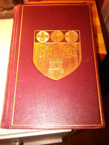1926 HC leather gilded Oxford Book of French Verse 18 to 20th C
