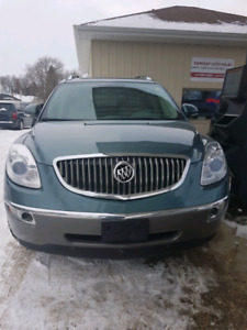 2009 BUICK ENCLAVE CX NEW SAFETY