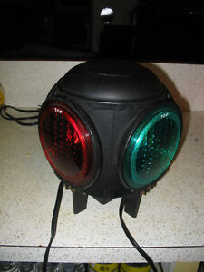 Old Dressel Railroad Electric Switch Lamp  From the NYC RR