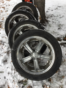 Tires and Rims - Luxury Alloy