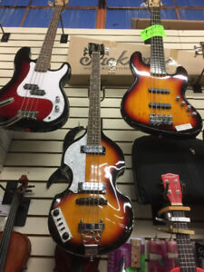 Beatles Violin Style Hollowbody Bass  (Both left handed & Right)