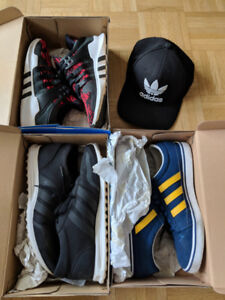 Adidas hat and shoes