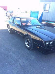 1984 Chevrolet Monte Carlo SS SAFETIED