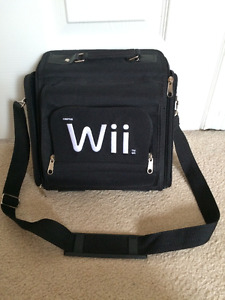 Wii Carrying Case with shoulder strap. New condition.