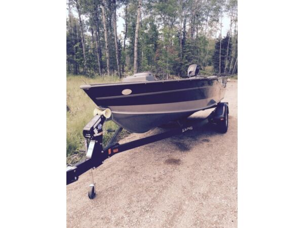 Used 2015 Lund Boat Co 1675 Impact