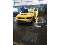 Mitsubishi Evo 7 rally art may swap or px