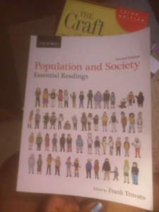 Population and Society By Frank Trovato