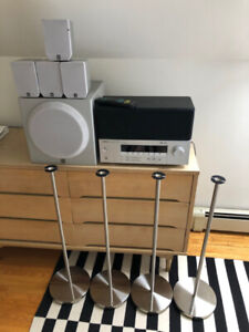 Yamaha 5.1 Surround System with Stands $100 OBO