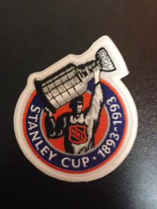 Stanley Cup Centennial 1993 Official NHL Jersey Patch