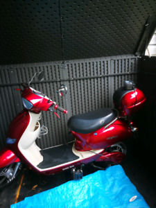 Daymak Ebike Scooter name Jena colour red lightly used