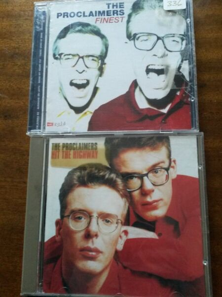 2 Proclaimers CDs R170 negotiable for both