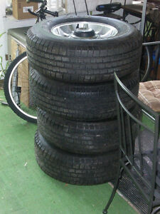 Jeep YJ rims and Michelin package Stratford Kitchener Area image 3