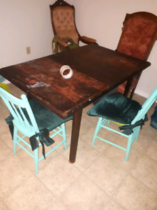 Antique table n chairs