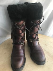 Chaussur hiver Sorel pour femme gr.9 (39), en cuire