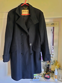 Mens River Island winter overcoat