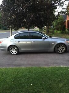 2006 BMW550i rare 6 sp manual PRICE LOWERED- a steal